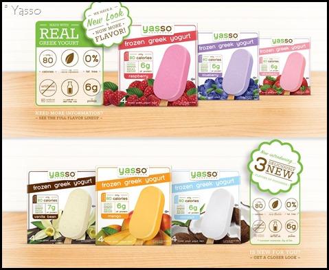 Yasso Frozen Yogurt Treats 0