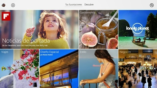 Flipboard para Windows 10