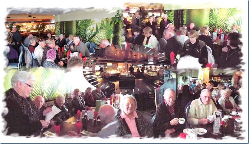 The Mid-winter Feast at Valentines. Photos and Collage courtesy of Dennis Lyons.