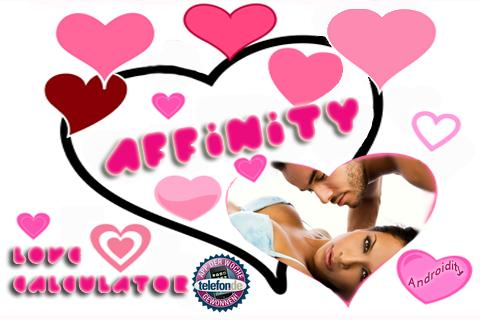 AFFINITY LOVE MATCH - screenshot