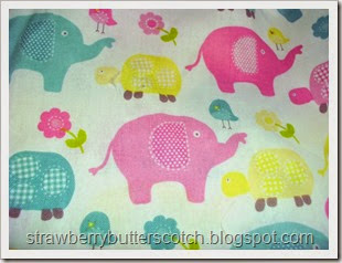 elephant turtle fabric close up