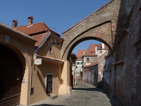 Imagini Romania: pe ulitele din Sibiu