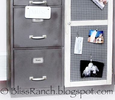 $5 storage cabinet makeover