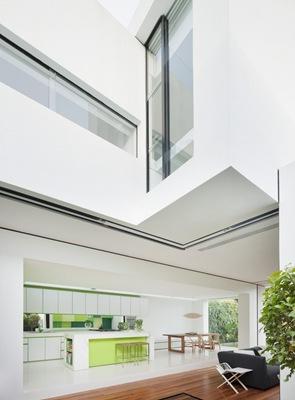 diseño-cocina-moderna-color-verde