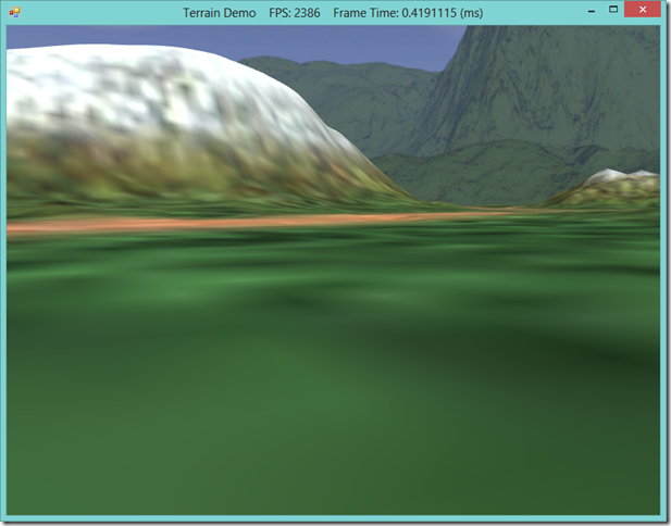 RichardsSoftware net - Dynamic Terrain Rendering with SlimDX and