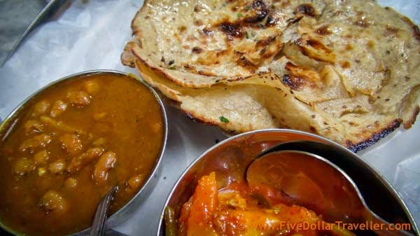 Jawain butter Paratha, Amritsar