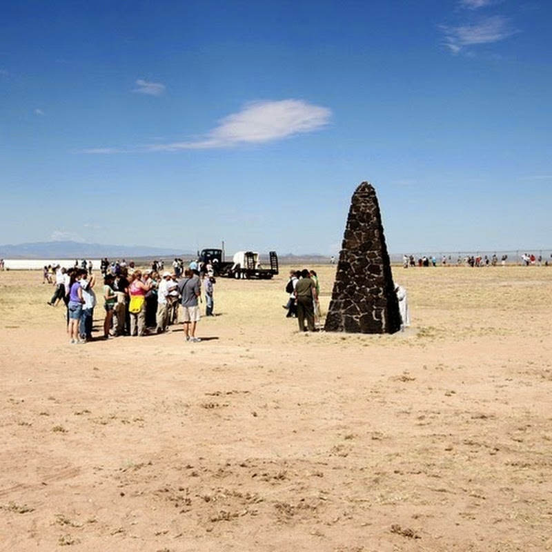 Trinity Site, the Site of the First Atomic Bomb Blast