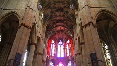 Inside trhe Cathedral