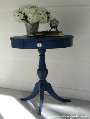 napoleonic blue table