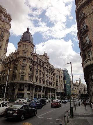 Gran Via à Madrid