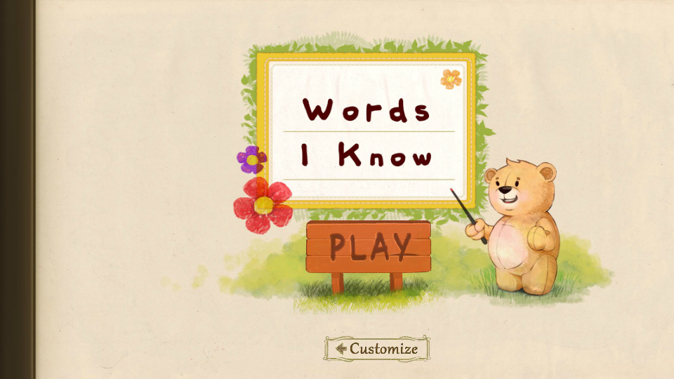 Words I Know- screenshot