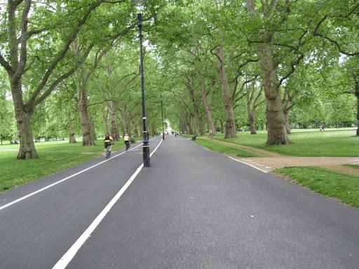 Hyde Park bike path