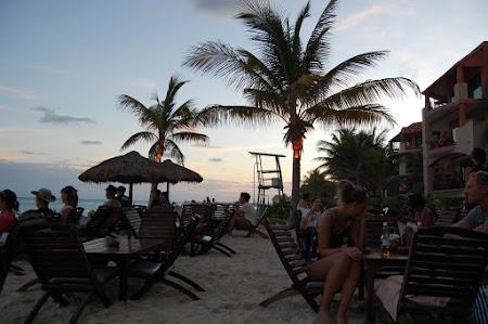 Vacanta Mexic: Plaja la Playa del Carmen