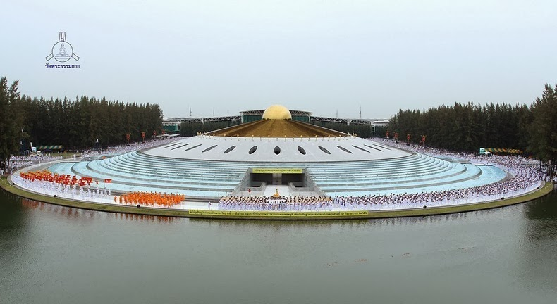 The Magnificent Buddhist Temple Of Wat Phra Dhammakaya Amusing Planet