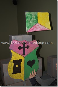 Homeschool Heraldry Study for Knight Unit