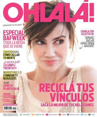 Celeste cid y sebastian estebanez en revista ohlala for Revistas del espectaculo
