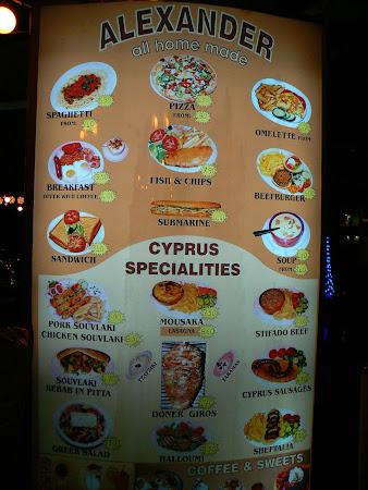 Imagini Larnaca: bucatarie cipriota