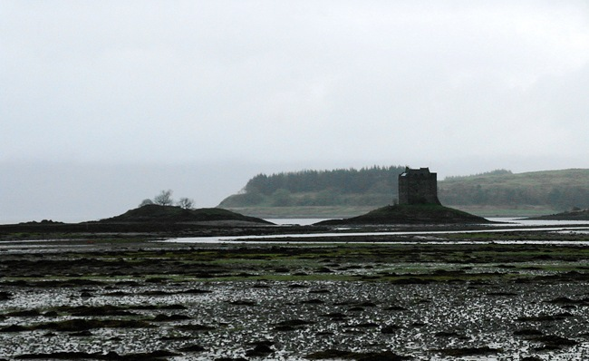 ANDY'S PICTURE OF CASTLE STALKER
