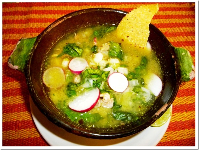 Green Pozole Soup Guerrero Style | Authentic Mexican Food Recipes