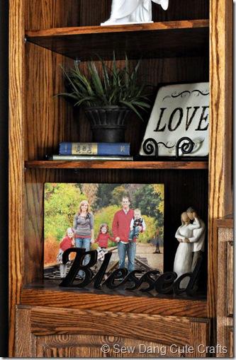 Canvas-in-bookshelf