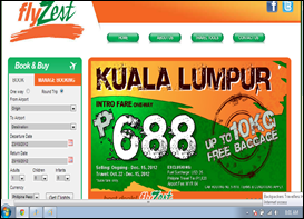 Zest Air's Inaugural flight to KL