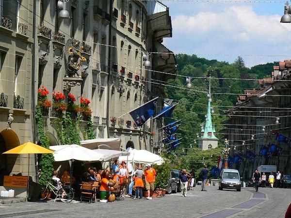 Obiective turistice Elvetia: prin Bern