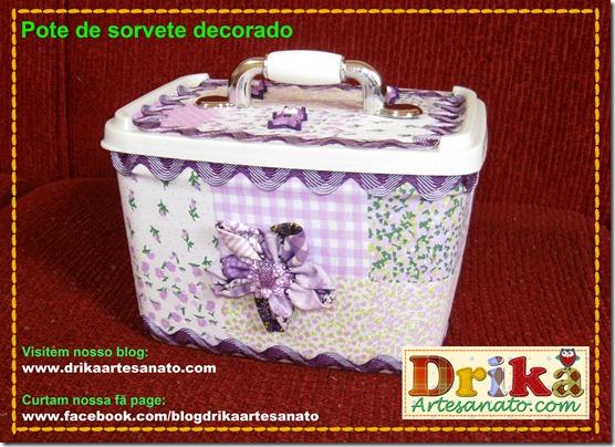 Divulgação Blog Drika Artesanato