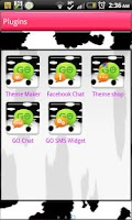 Screenshot of GO SMS - Moo Moo Cow