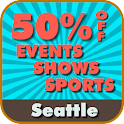 50% Off Seattle Events &Sports logo
