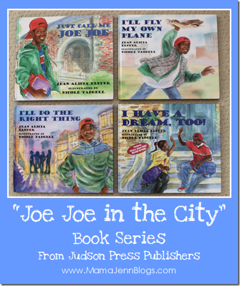 Joe Joe in the City and Jordan's Hair {Book Reviews}