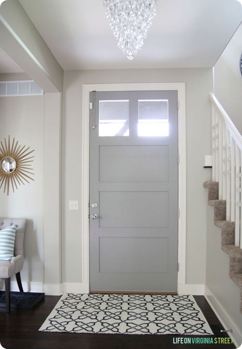 gray interior doors
