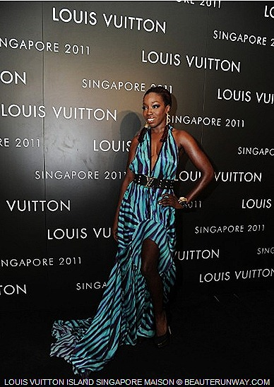 Louis Vuitton Estelle ISLAND SINGAPORE MAISON