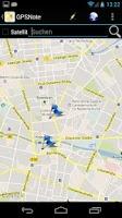 Screenshot of GPS Notes