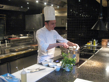 Eveniment British Airways la hotel Mariott Bucuresti: Nicolae Ilie, chef la Mariott