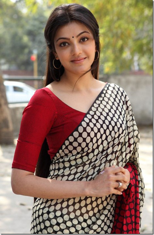 kajal_agarwal_cute_in_saree_photo