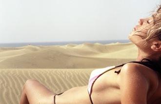 imagen relajante playa