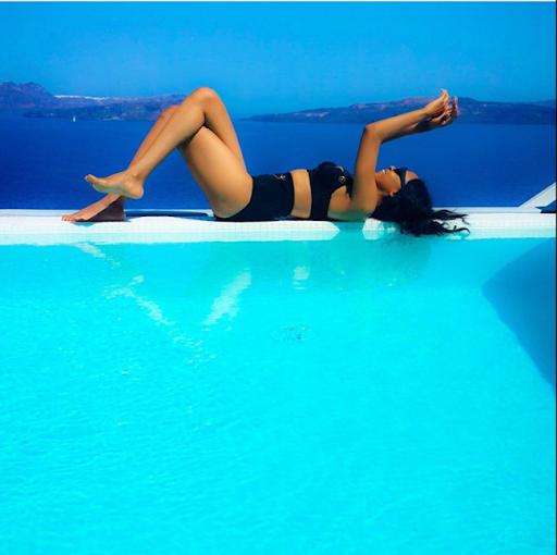 PHOTOS: Sylvia Nduka And Ene Maya's Vacation in Santorini Greece 6
