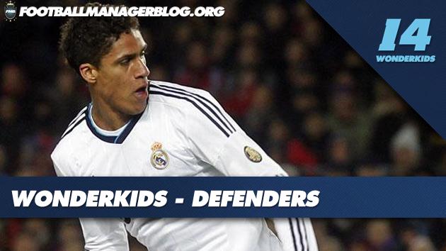FM 2014 Wonderkids Defenders