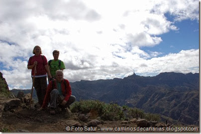 7025 Cruz Tejeda-Artenara-Guardaya(Roque Nublo)
