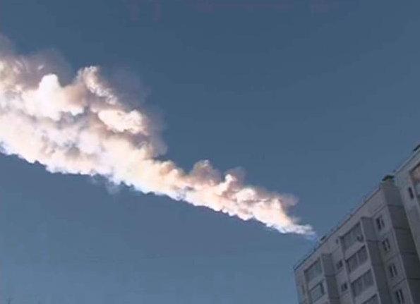Imagen del asteroide en Rusia