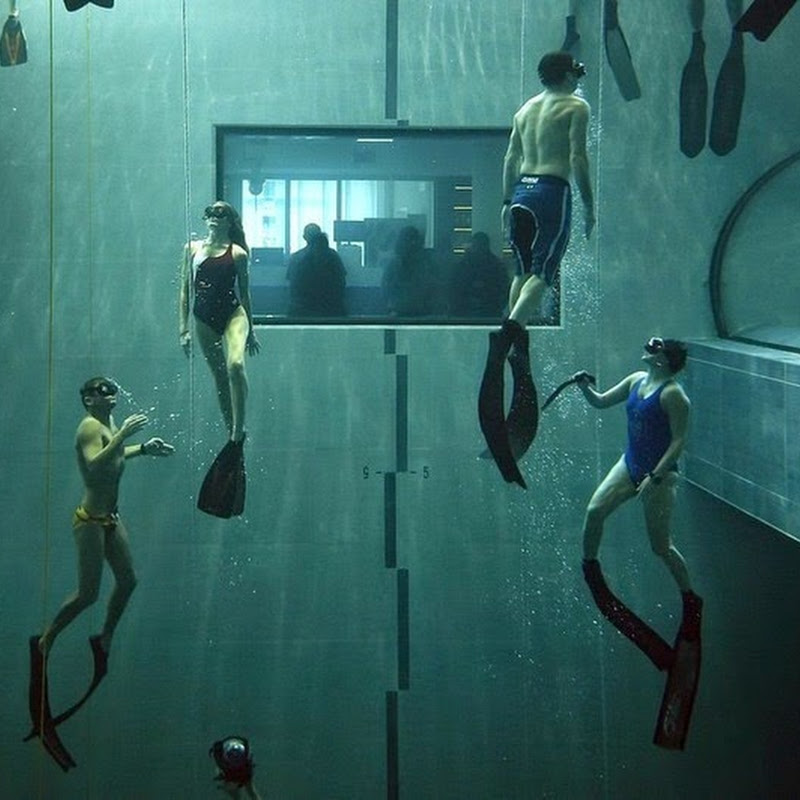 Y-40 Deep Joy: World's Deepest Swimming Pool