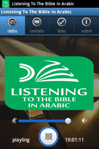 Listening The Bible in Arabic