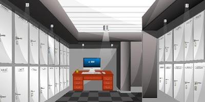 Screenshot of EscapeGame N23 - Locker Room