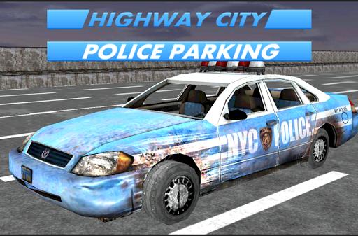 公路市警察停车