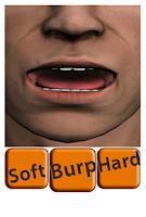 Screenshot of burp sounds monster