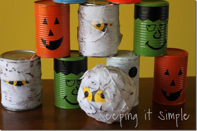 Halloween bowling cans (10)