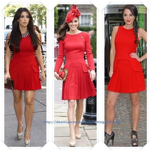 Traje De Baño Rojo Andrea:Un vestido de Oscar de la Renta Resort 2012 lo llevo primero Anna