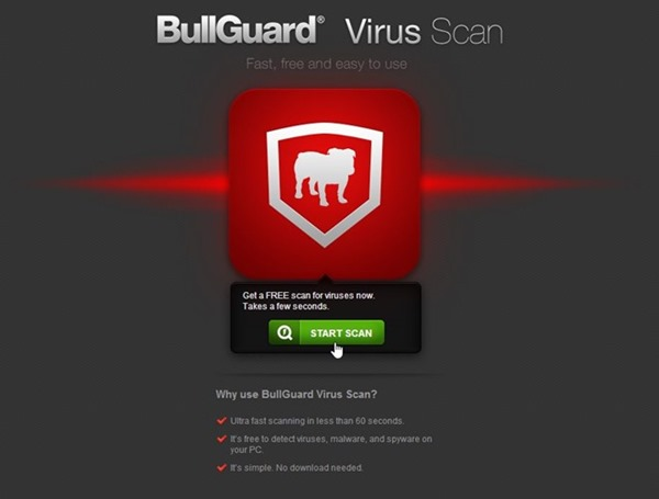 BullGuard-Virus-Scan