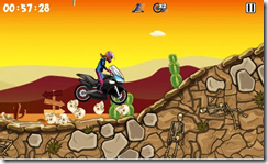 العديد من المستويات والتراكات المختلفة فى لعبة الموتوسكيلات Bike Xtreme للأندرويد