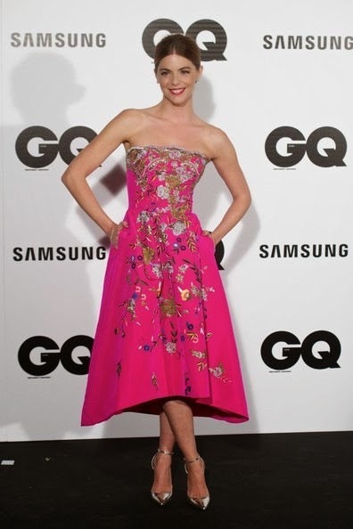 Manuela Velasco attends the GQ 2014 Men of the Year awards